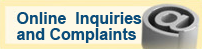 Online inquiries and complaints